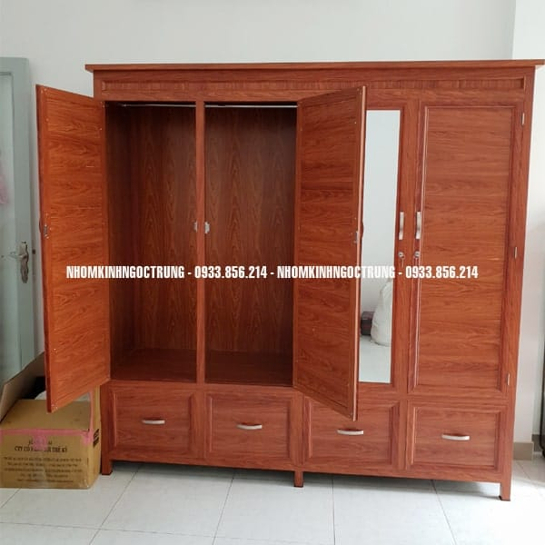tủ quần áo TA002 4