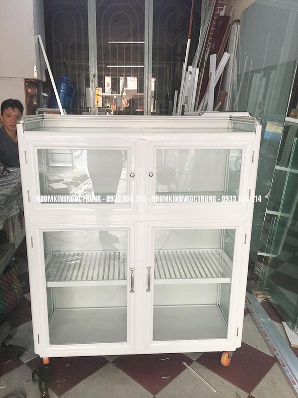 tủ chén trăng sữa tcs11216