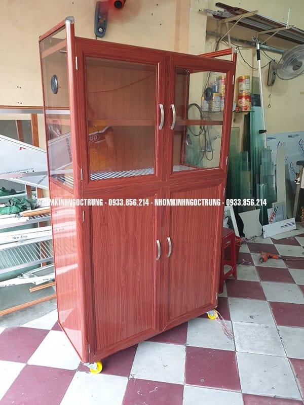 tủ chén gỗ đậm TCD11773200