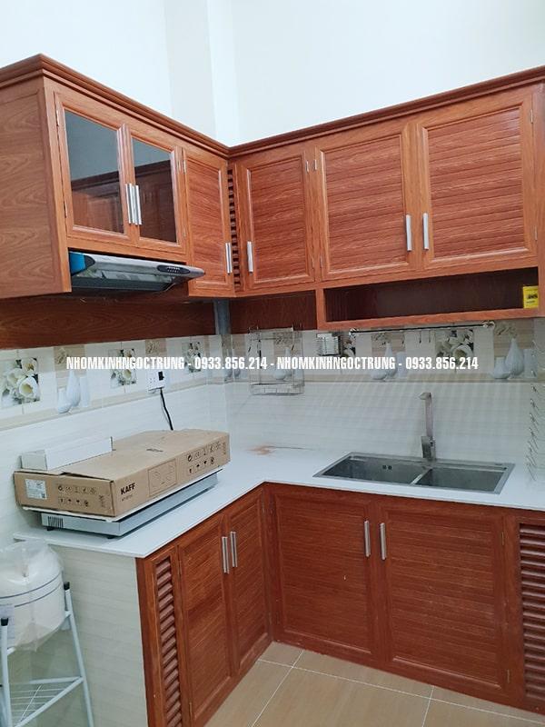 tủ bếp tb009